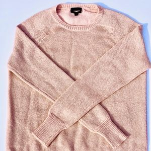J Crew  cashmere shimmer sweater